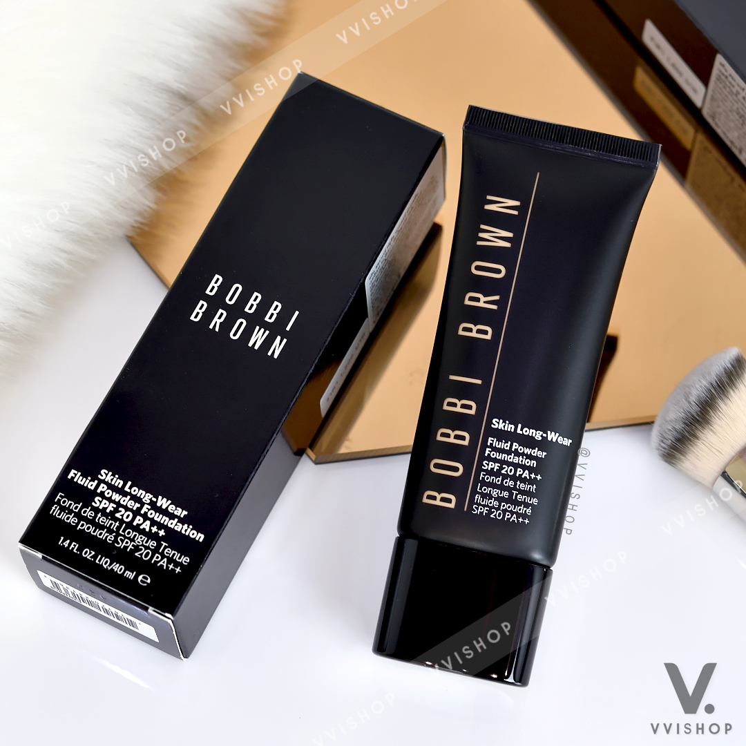 New! Bobbi Brown Skin Long-Wear Fluid Powder Foundation SPF20 PA++ 40 ml.