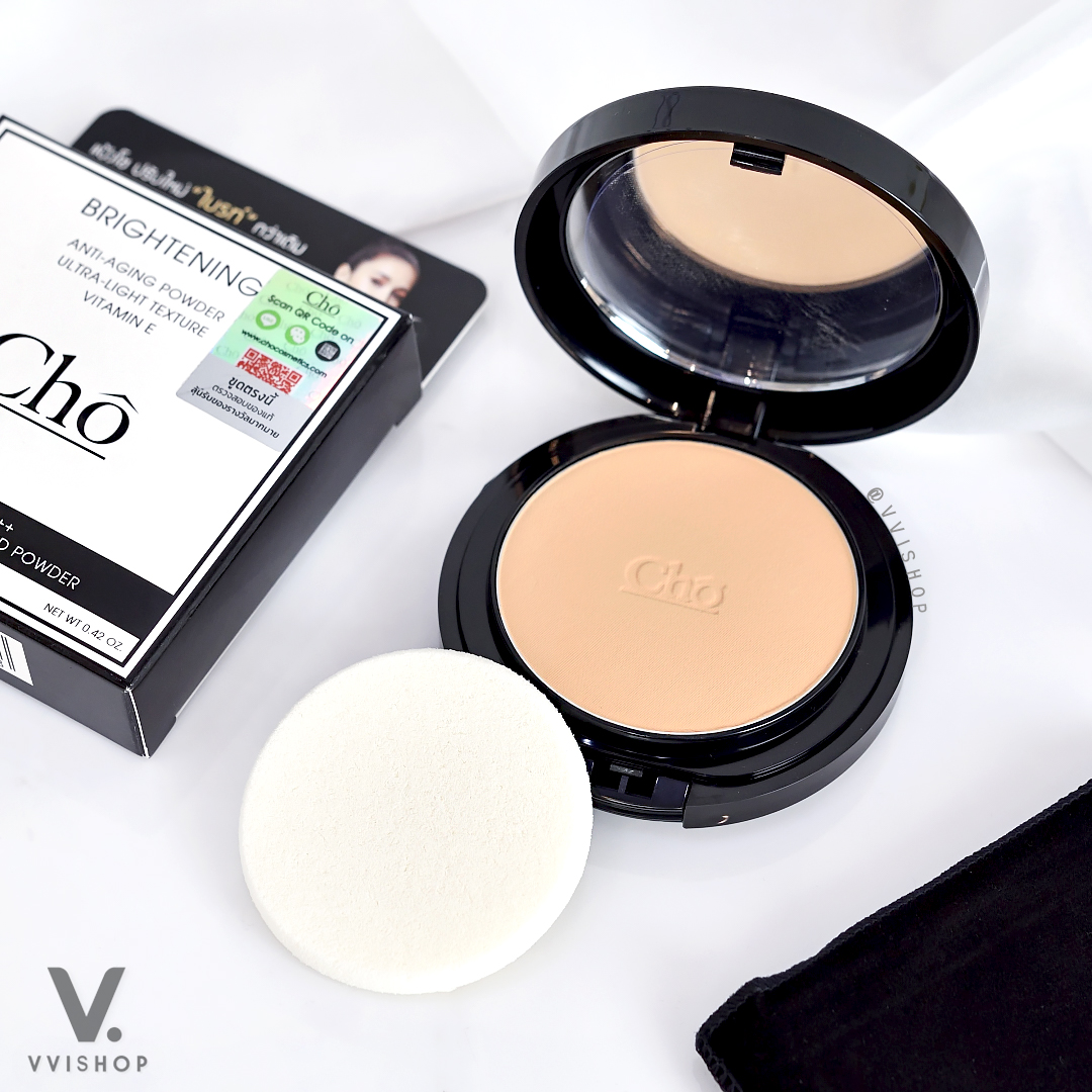 Cho Anti-aging Powder Ultra-Light Texture Vitamin E SPF15/PA++ 12g