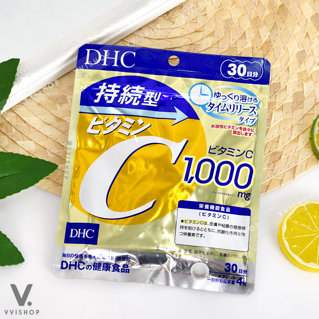 DHC Vitamin C Sustainable 1,000 mg 30 วัน