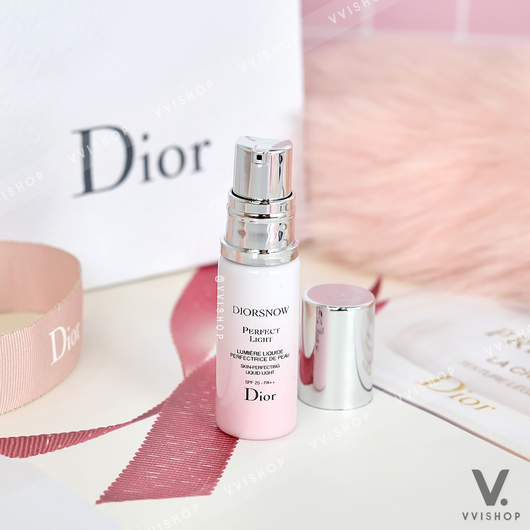 Diorsnow Perfect Light Skin Perfecting Liquid Light SPF 25 PA++ 7 ml.