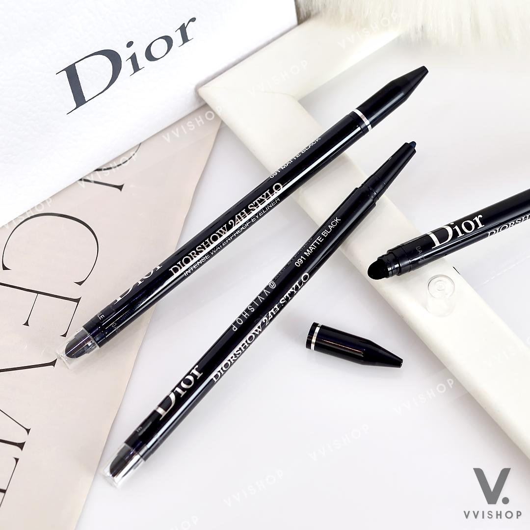 New! Diorshow 24H Stylo - Waterproof Eyeliner (Nobox) : 091 Matte Black