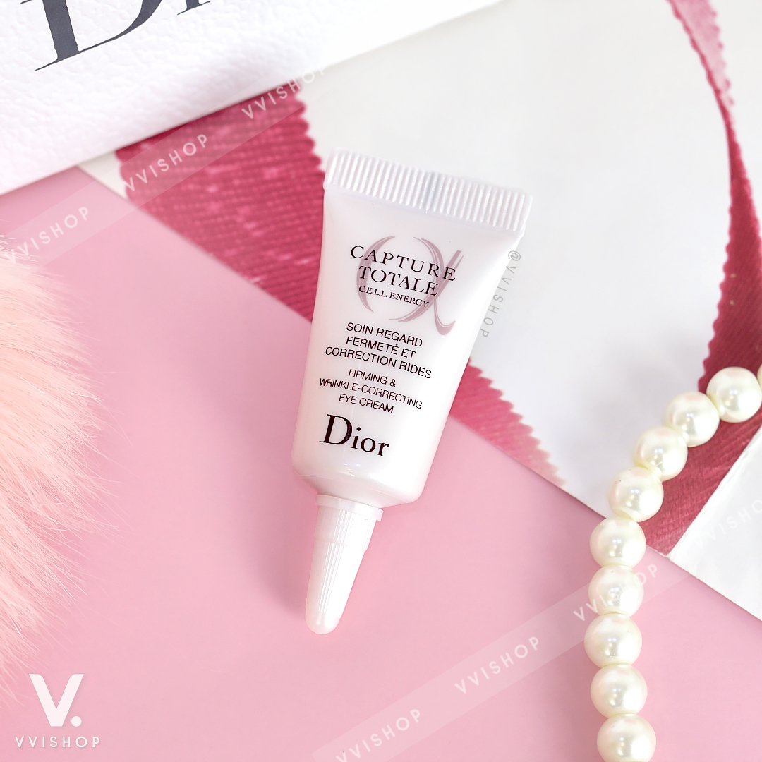 Dior Capture Totale Cell Energy Firming & Wrinkle-Correcting Eye Cream 5 ml.