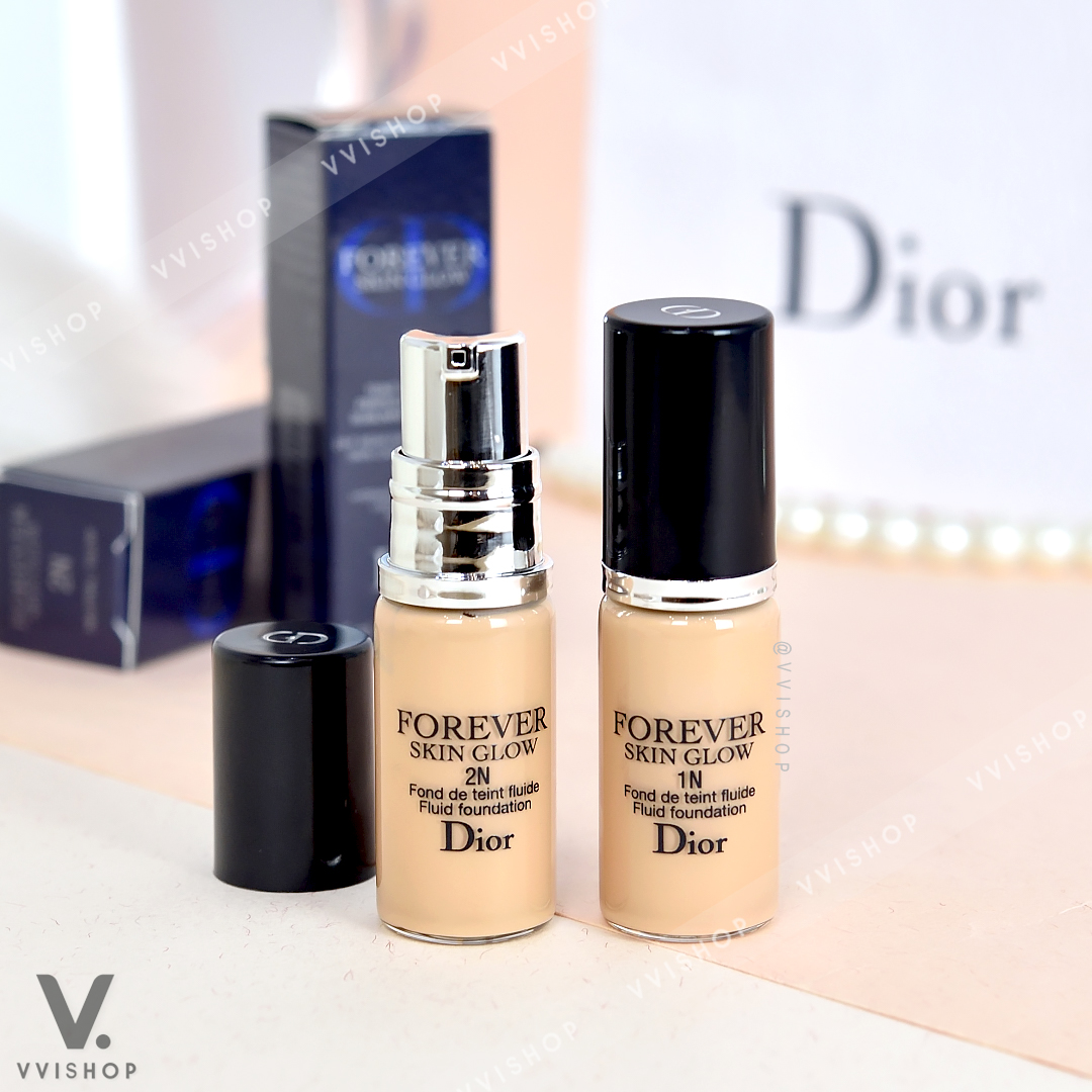 Dior Forever 24H Wear High Perfection Skin-Caring Foundation SPF35 PA+++ Glow 5 ml.