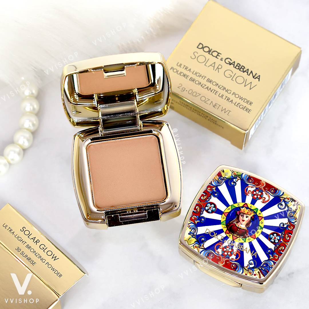 Dolce & Gabbana Solar Glow Ultra-Light Bronzing Powder 2g : 30 Sunrise