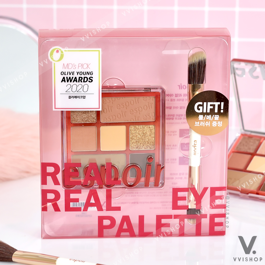 Espoir Real Eye Palette Gift Set Limited Edition : Nude Mood