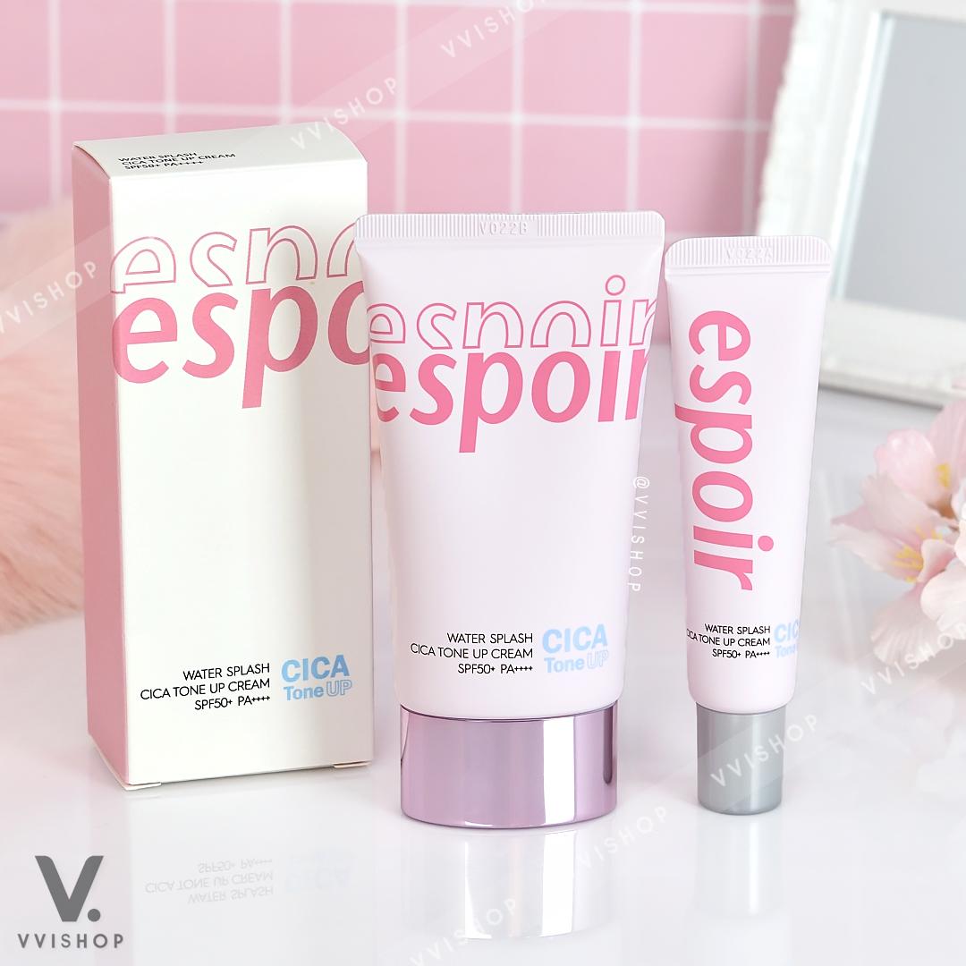 Espoir Water Splash Cica Tone Up Cream SPF50+ PA++++ 60 ml. + 20 ml.