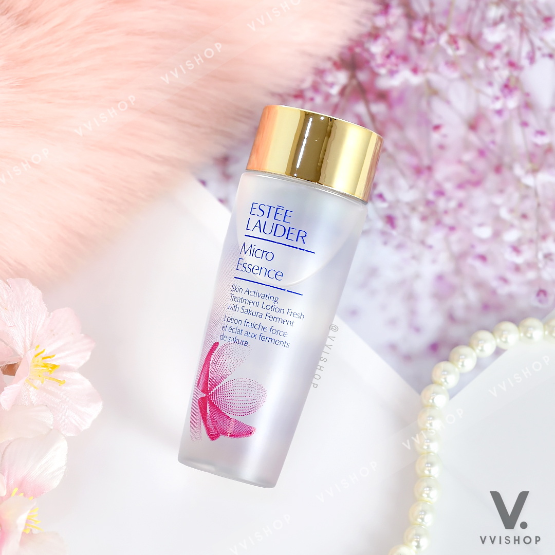 Estee Lauder Micro Essence Skin Activating Treatment Lotion Fresh with Sakura Ferment 50 ml.