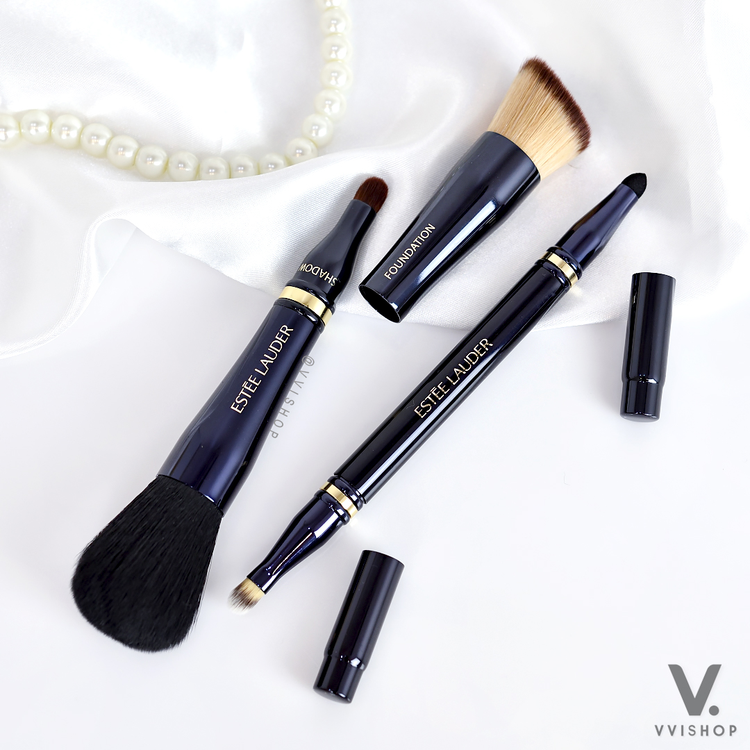 Estee Lauder Retractable Makeup Brush Set