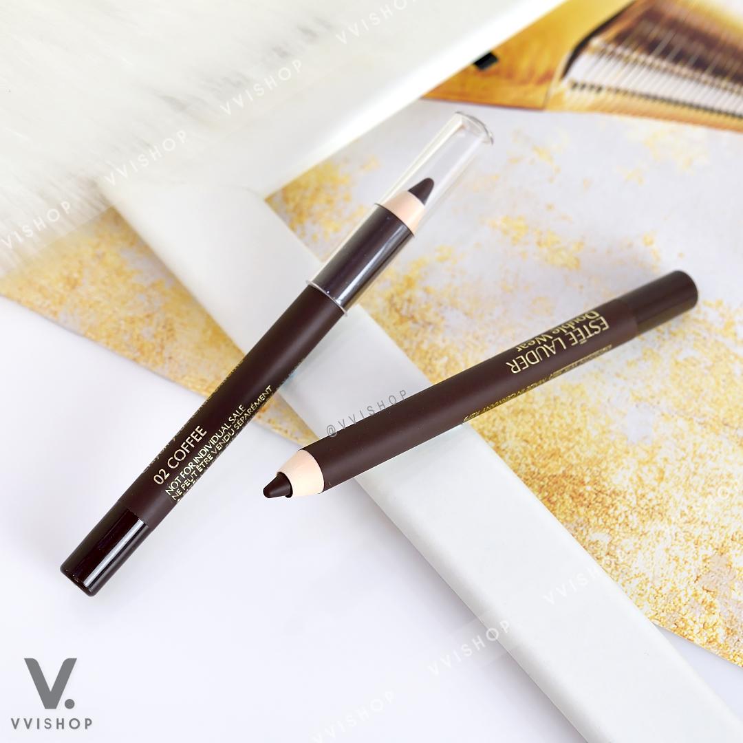 Estee Lauder Double Wear Stay-in-Place Eye Pencil 1.2g : 02 Coffee สีน้ำตาล