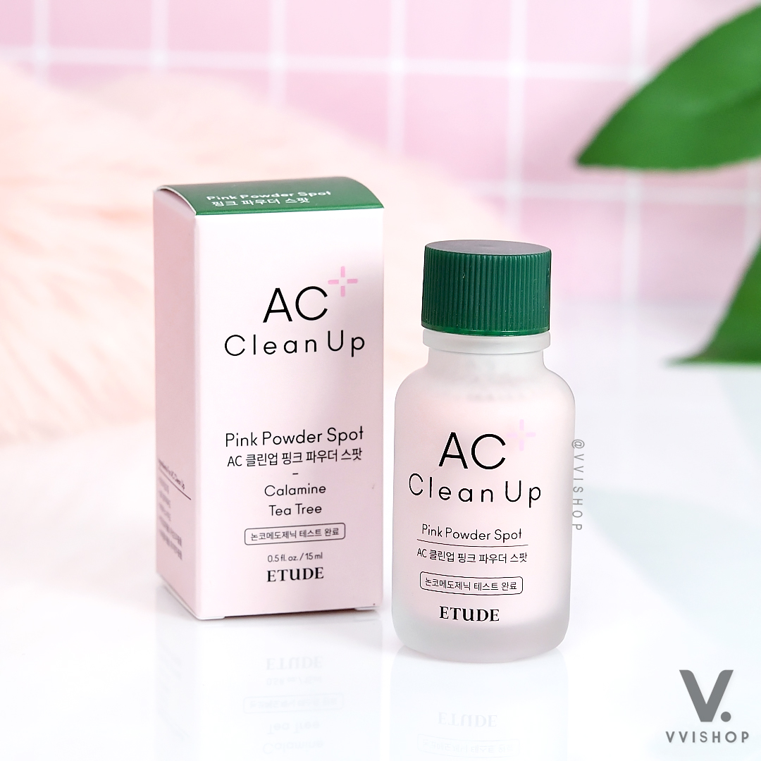 Etude House AC Clean Up Pink Powder Spot 15 ml.