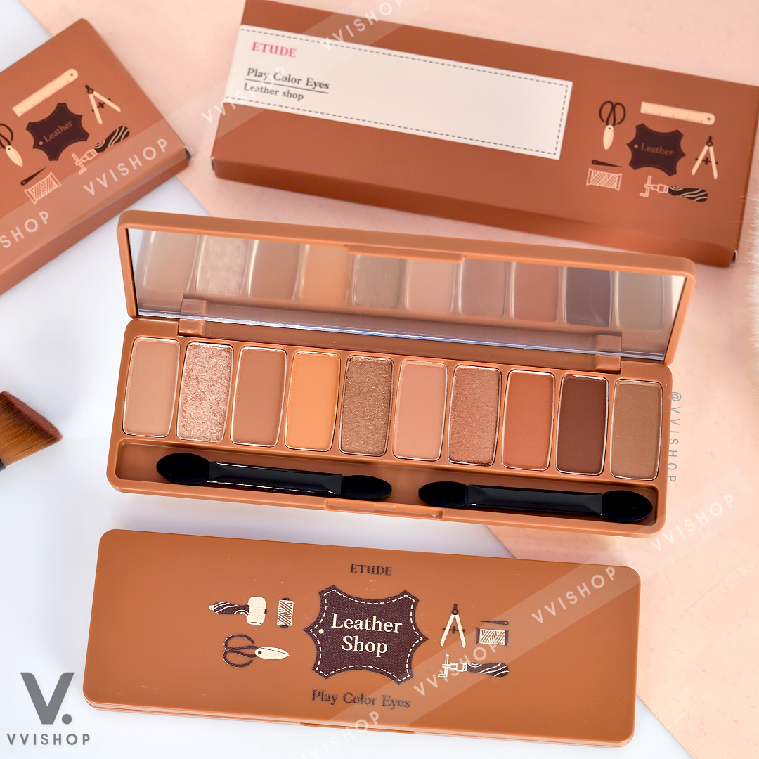 New! Etude House Play Color Eyes Leather Shop