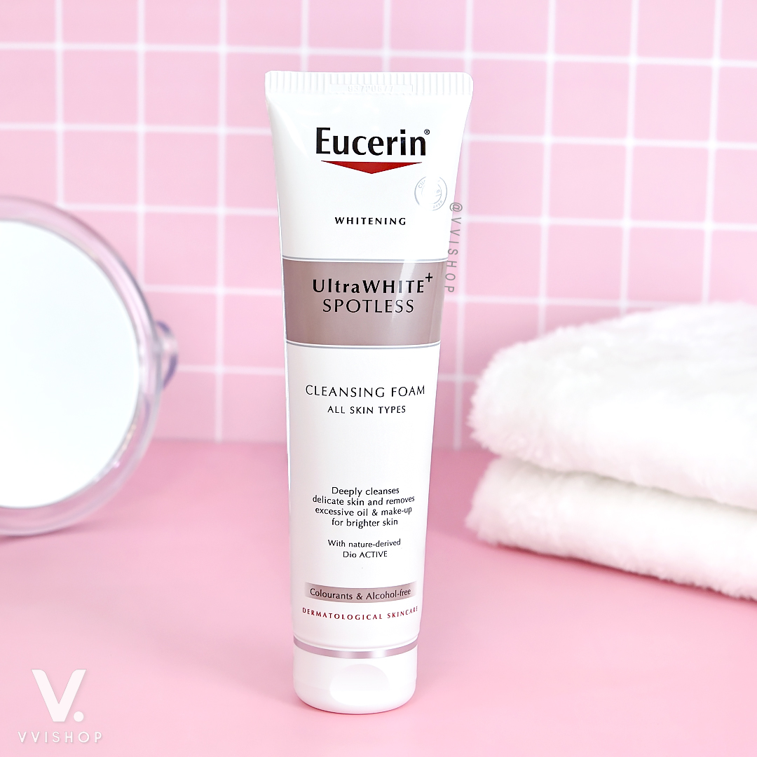 Eucerin UltraWHITE+ Spotless Cleansing Foam 150g