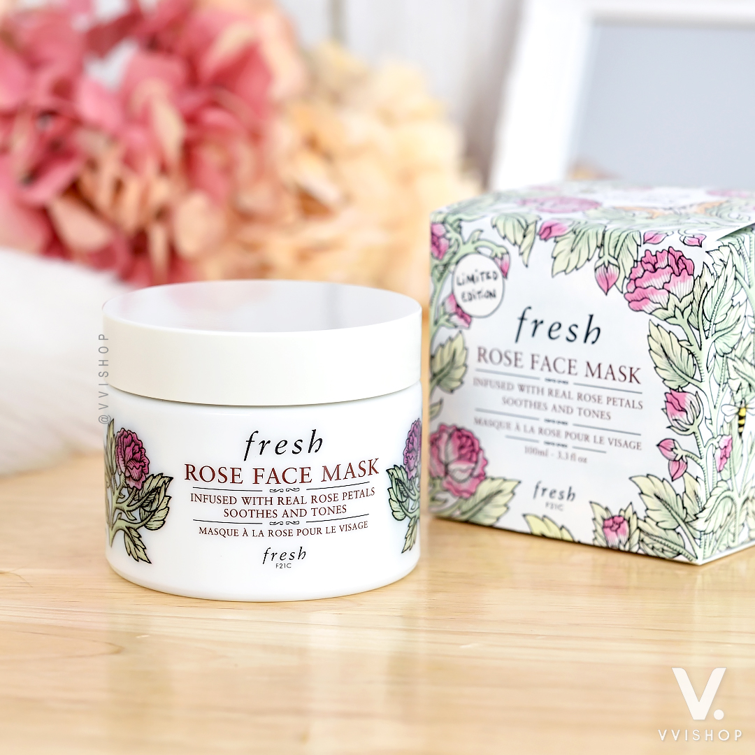 Fresh Rose Face Mask (Limited Edition 2020) 100 ml.