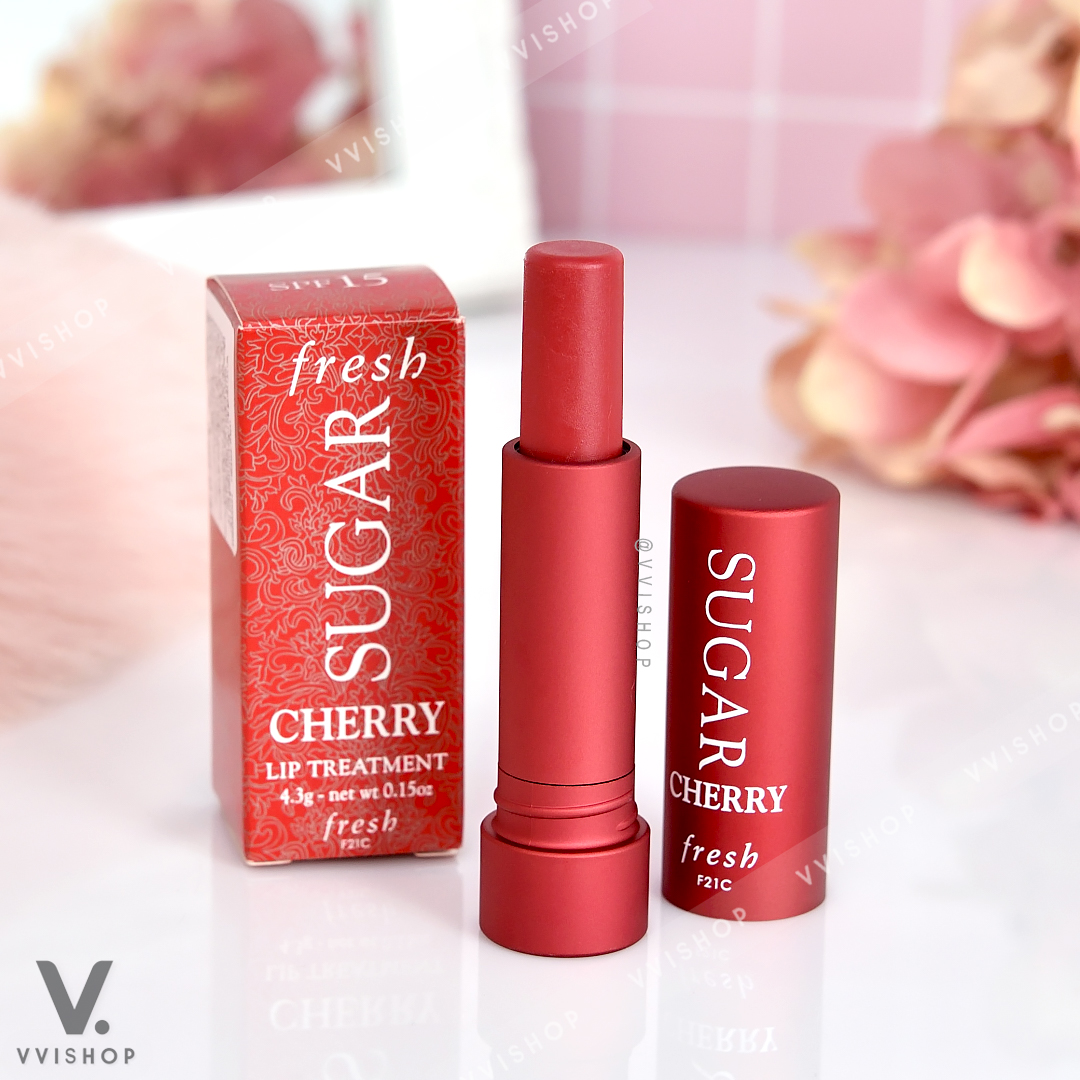 Fresh Sugar Lip Treatment Sunscreen SPF15 4.3g : Cherry