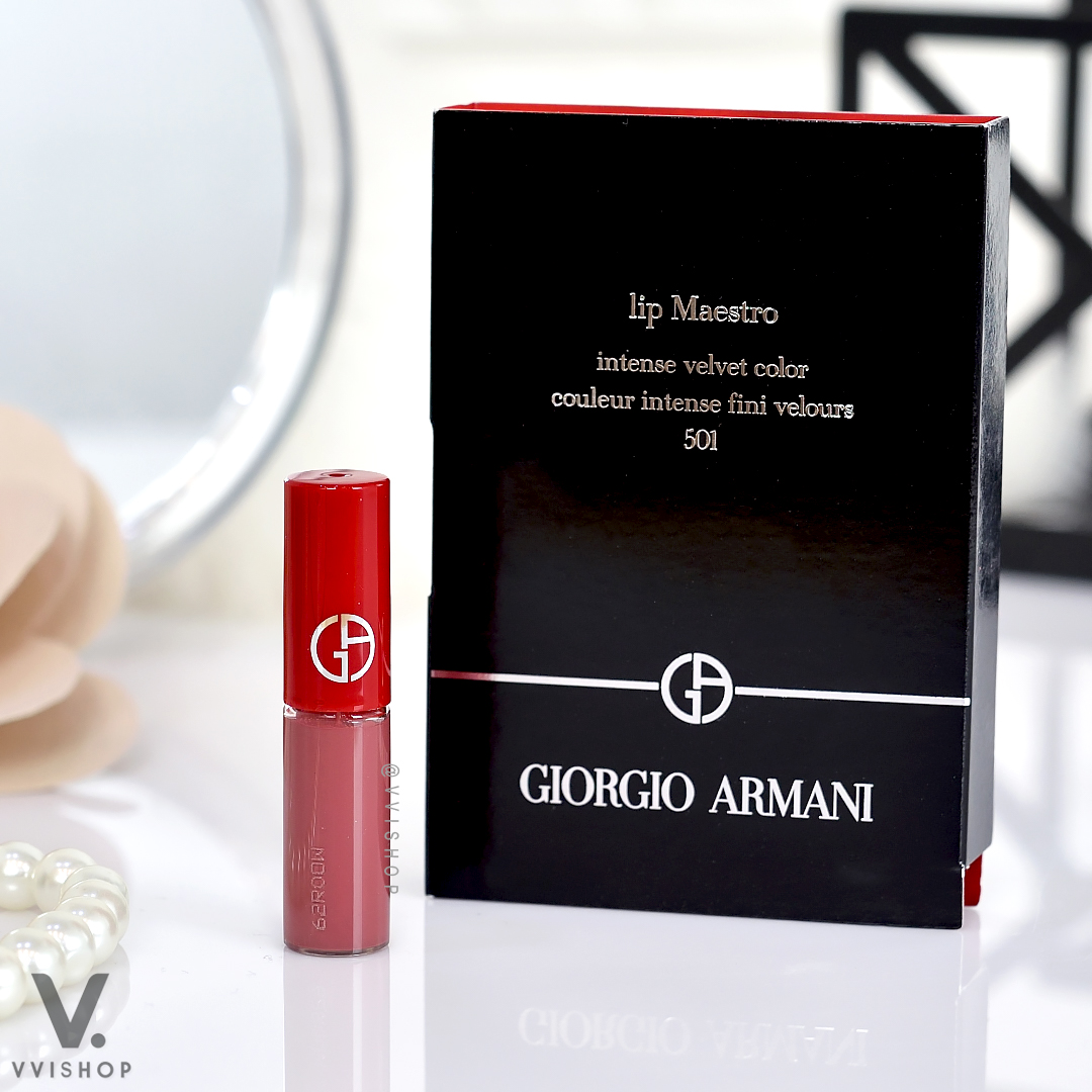 Giorgio Armani Lip Maestro Intense Velvet Color 1.5 ml : 501