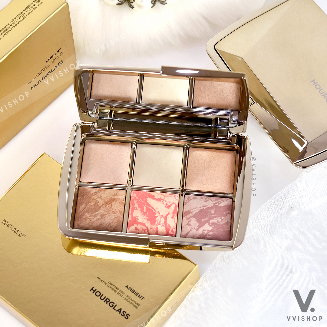Hourglass Ambient Lighting Edit Sculpture Palette