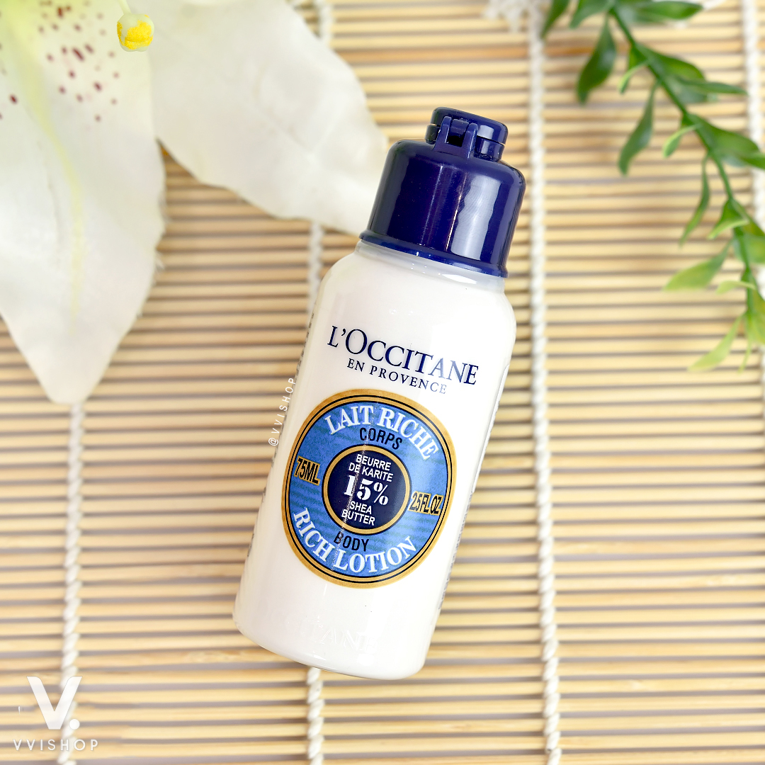 L'Occitane Shea Butter Rich Body Lotion 75 ml.