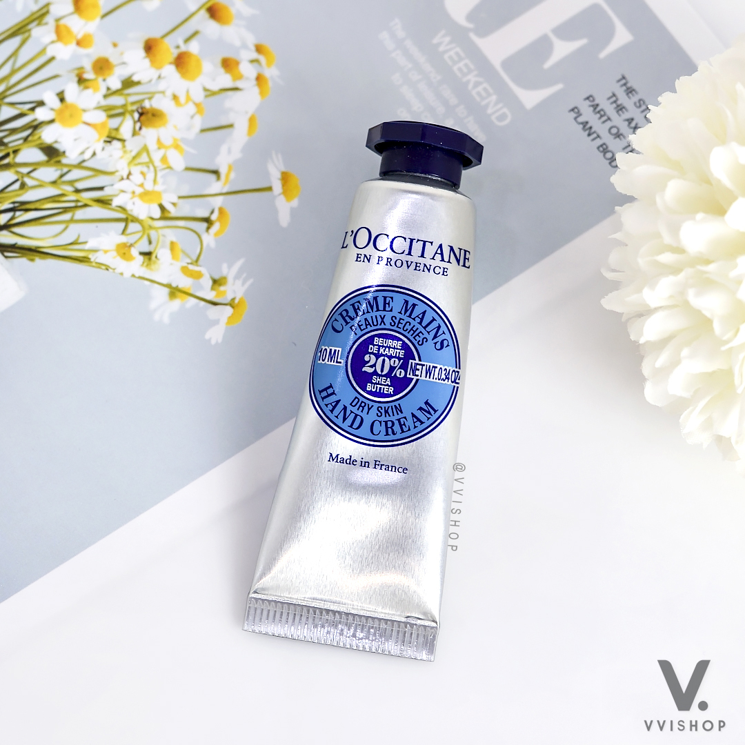 L'Occitane Shea Butter Hand Cream 10 ml.