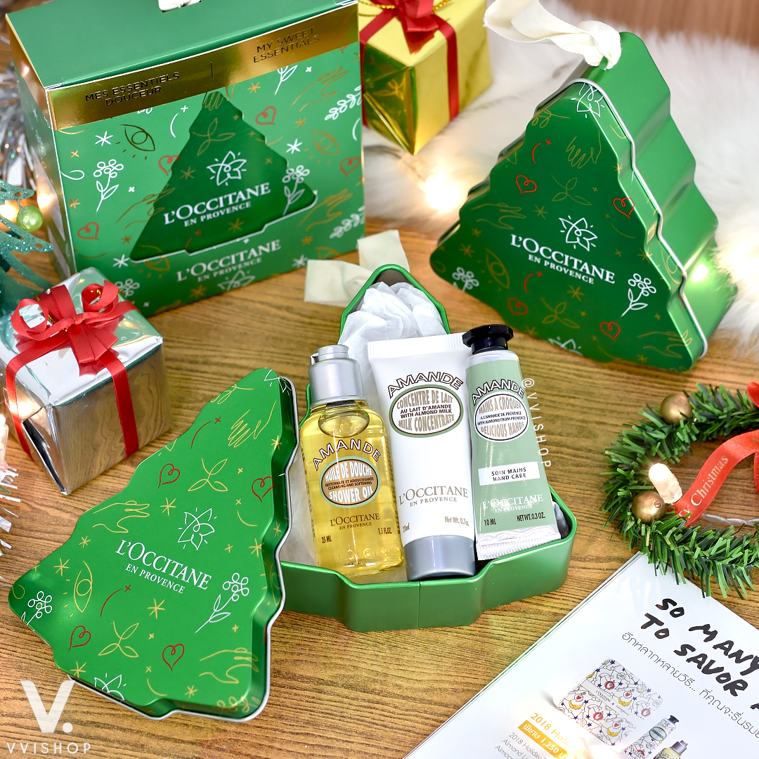 L'Occitane Christmas Tree Almond