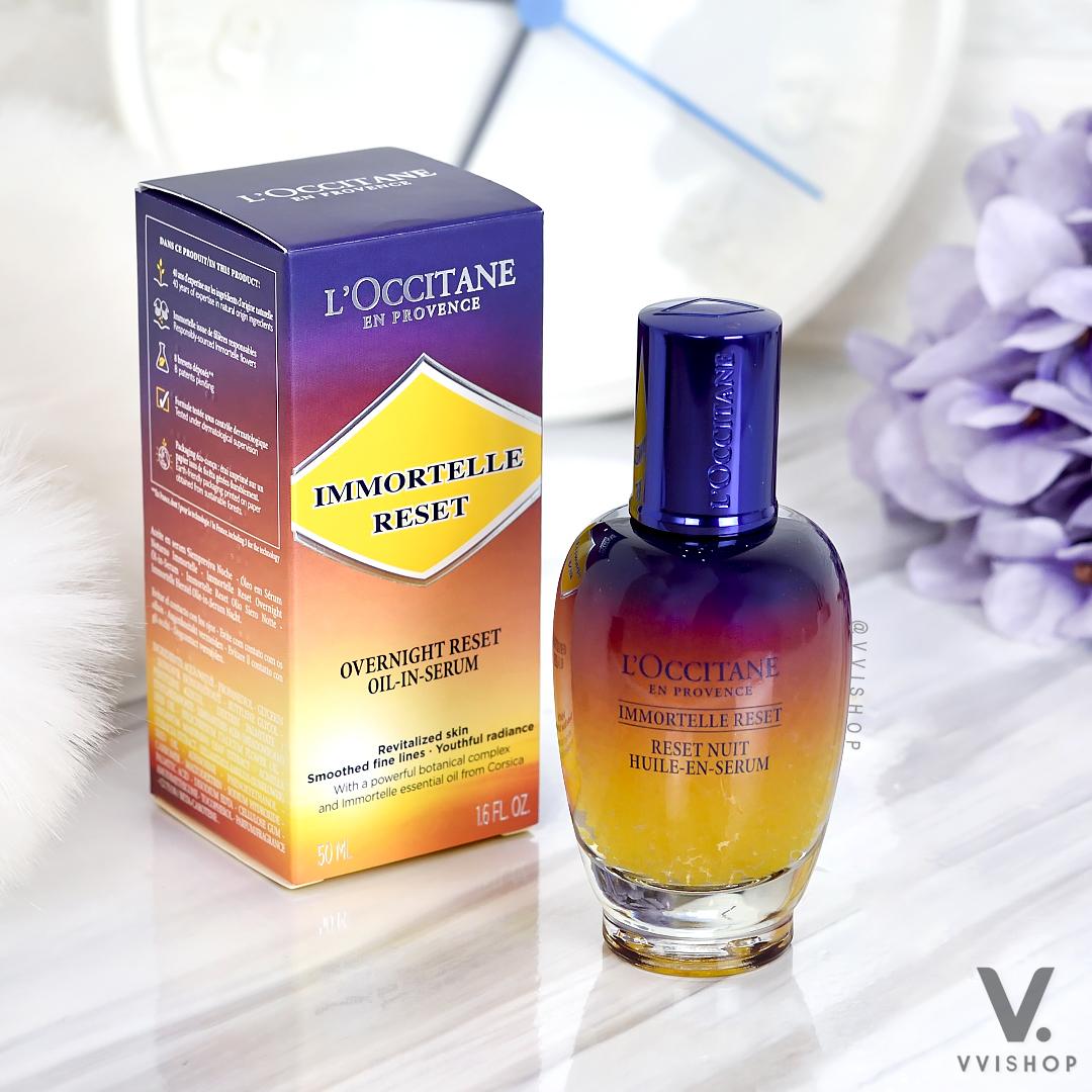 L'Occitane Immortelle Overnight Reset Oil-in-Serum 50 ml.