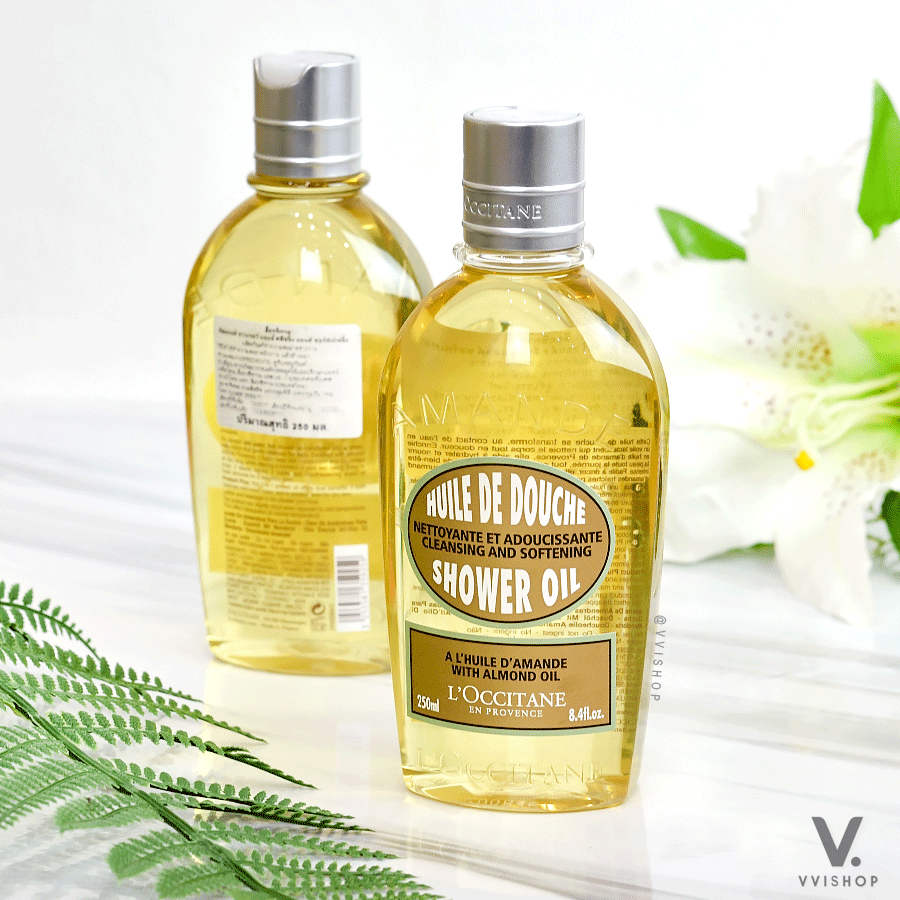 L'occitane Almond Shower Oil 250 ml.