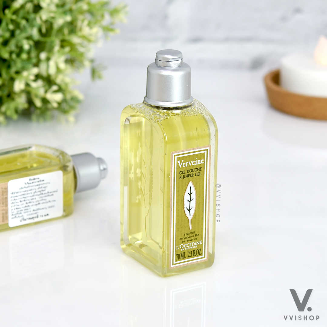 L'Occitane Verbena Gel Douche Shower Gel 70 ml.