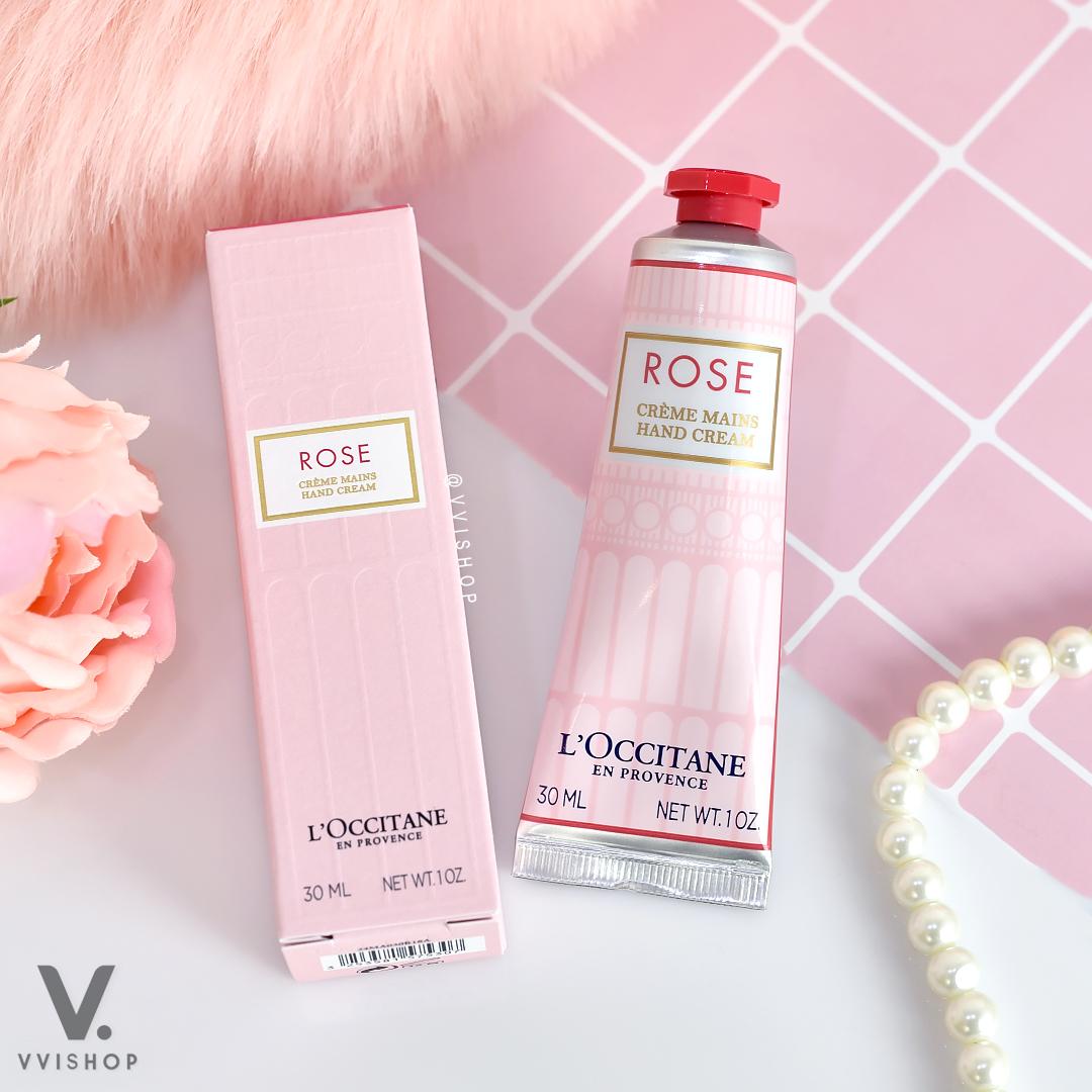 L'Occitane Rose Hand Cream 30 ml.