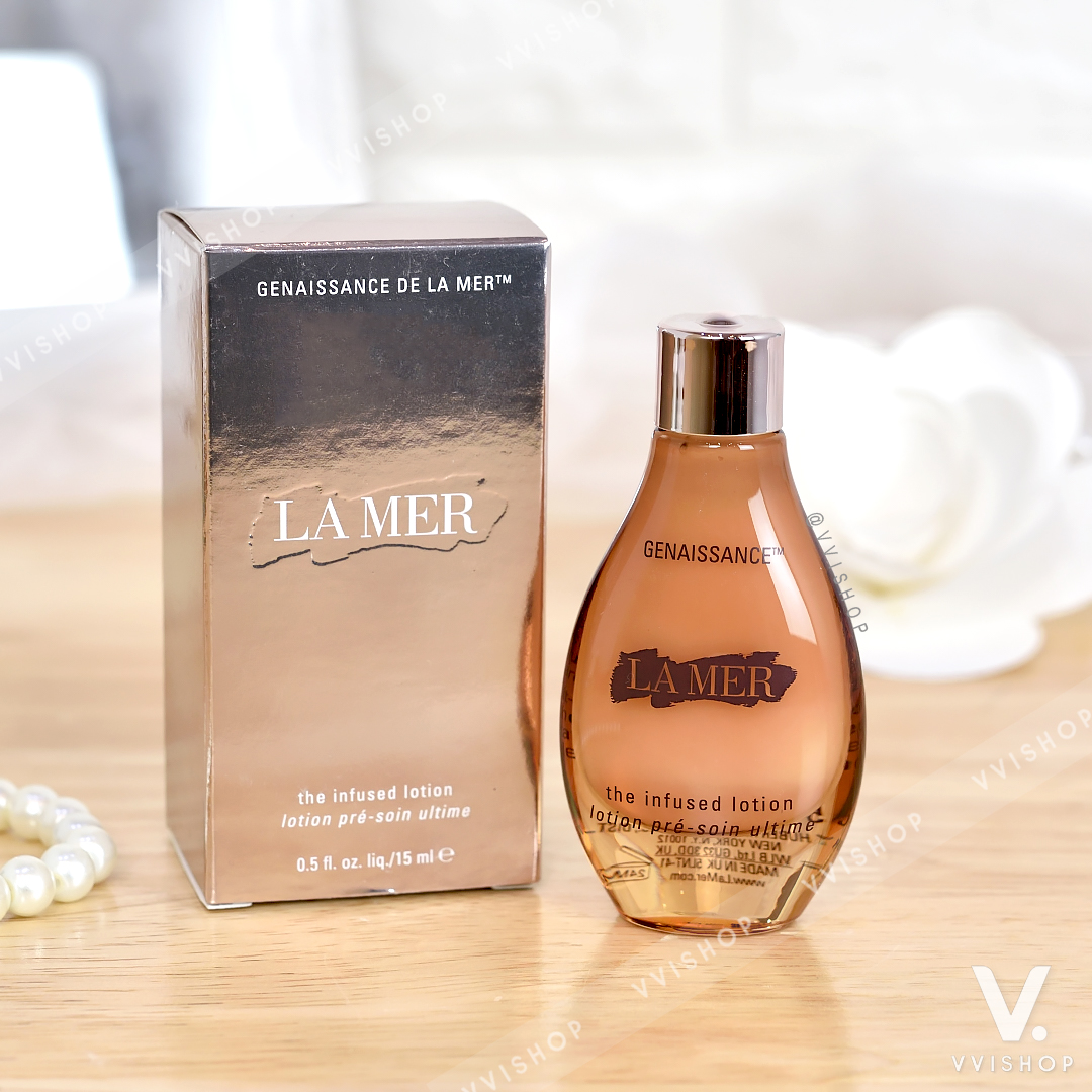 New! La Mer Genaissance de La Mer The Infused Lotion 15 ml.