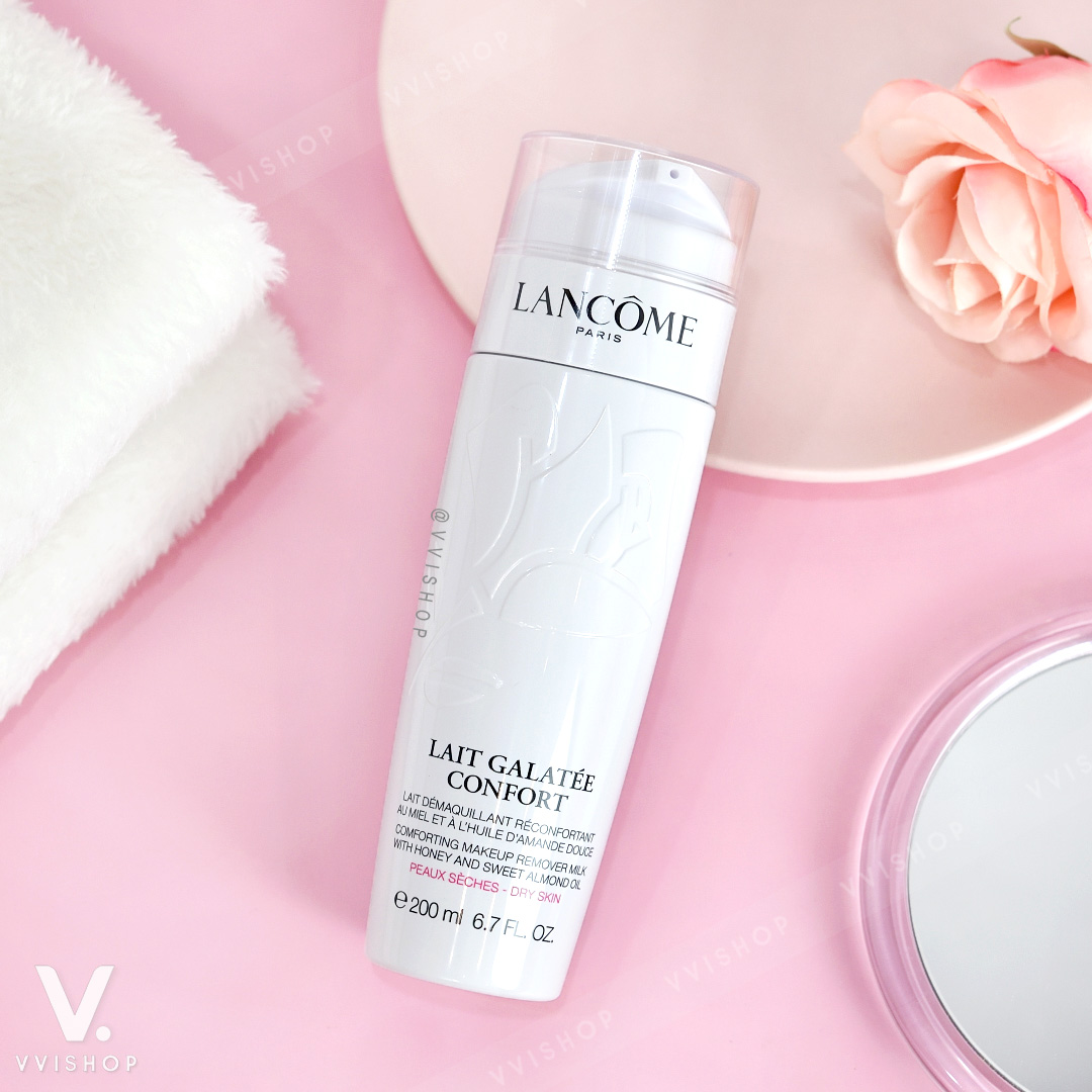 Lancome Lait Galatee Confort Comforting Makeup Remover Milk 200 ml.