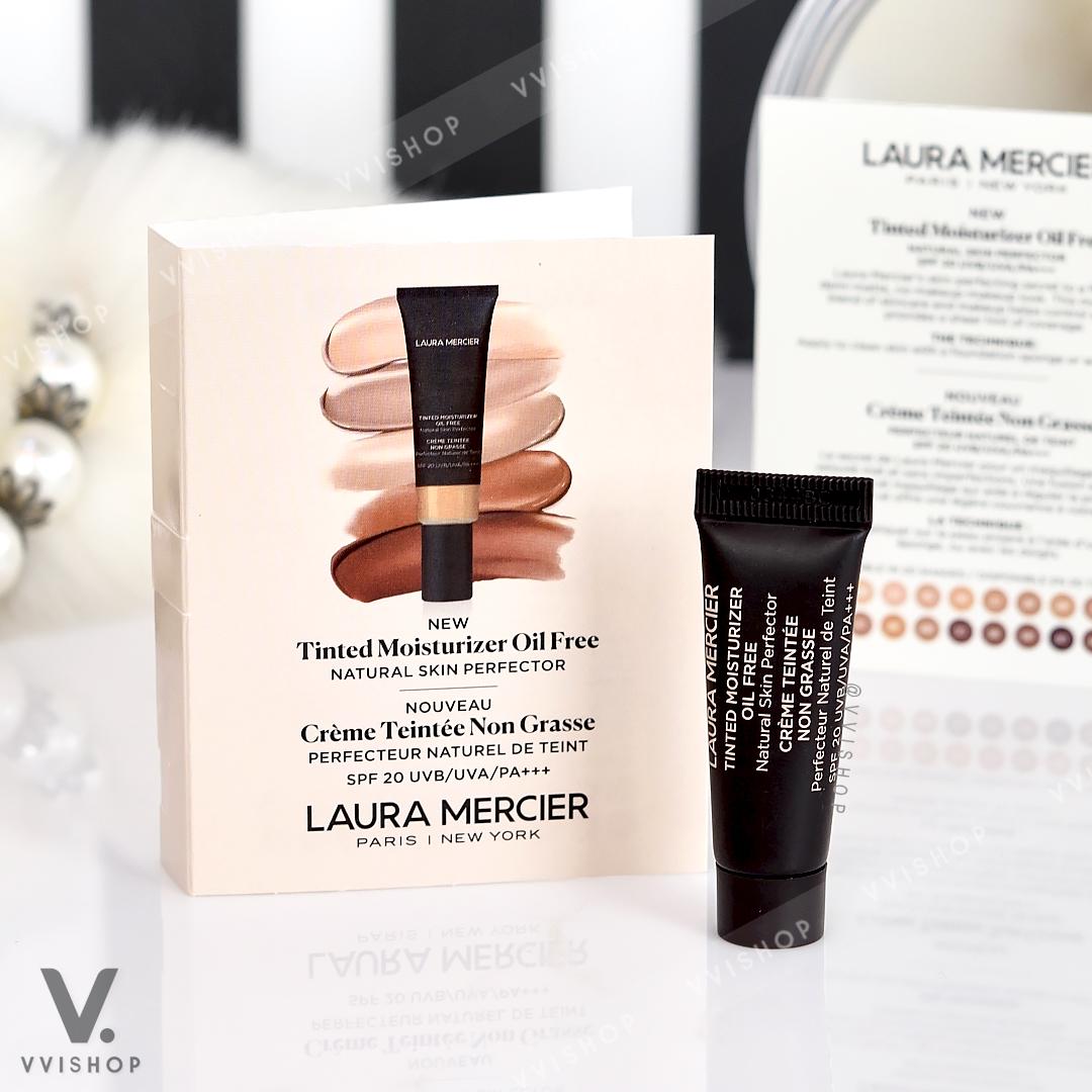 New! Laura Mercier Tinted Moisturizer Oil Free SPF20 PA+++ 5 ml. : 2N1 Nude
