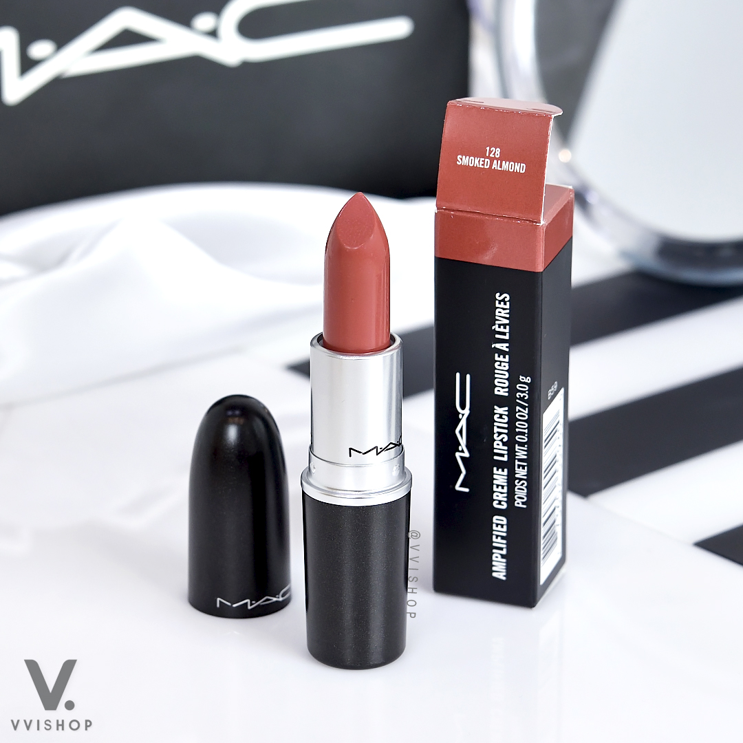 MAC Amplified Creme Lipstick 3g : Smoked Almond