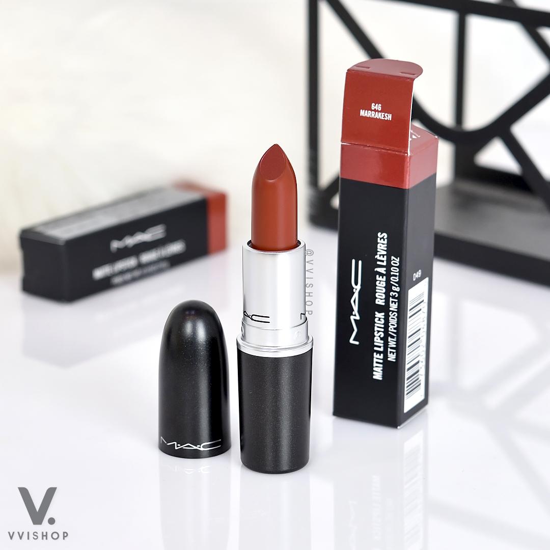 Mac Matte Lipstick Marrakesh 3g