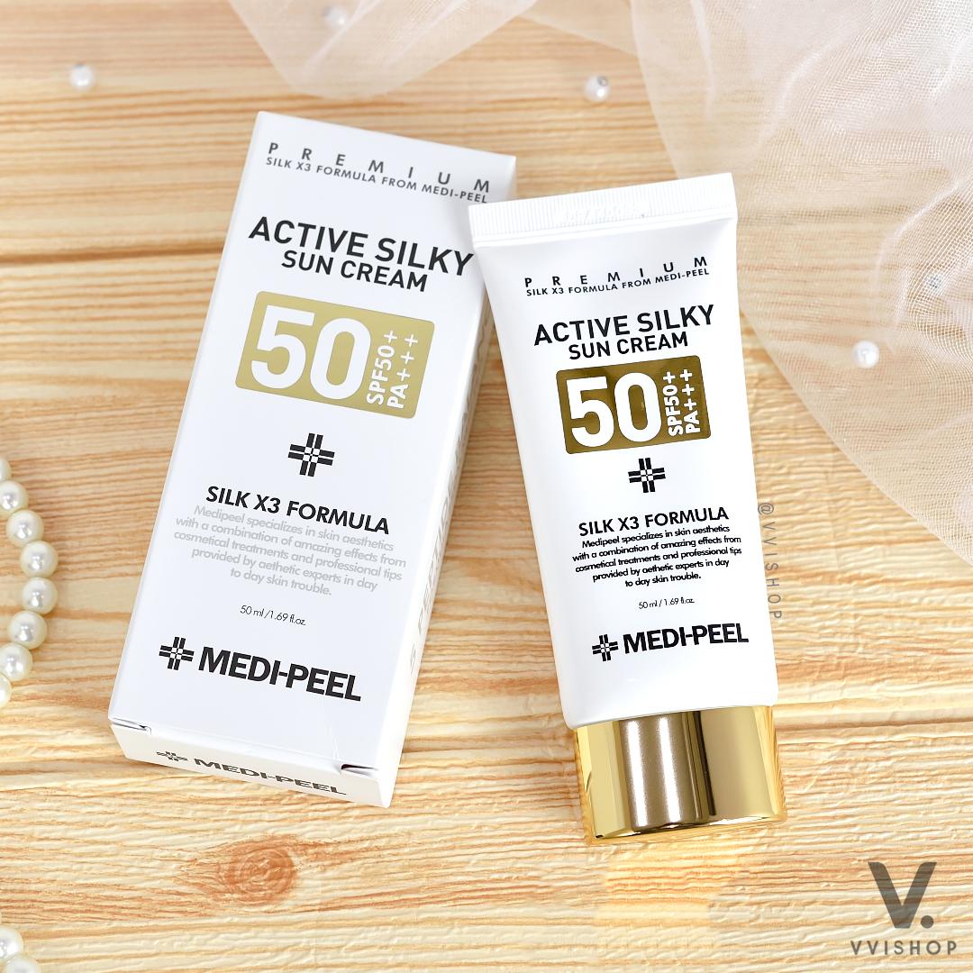 MEDI-PEEL Active Silky Sun Cream SPF50+ PA+++ 50 ml.