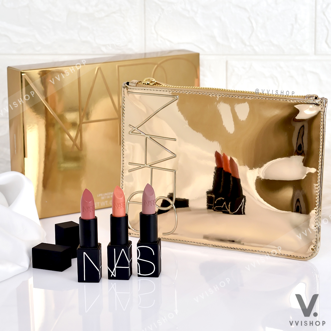 Nars Lips Uncensored Lipstick Set