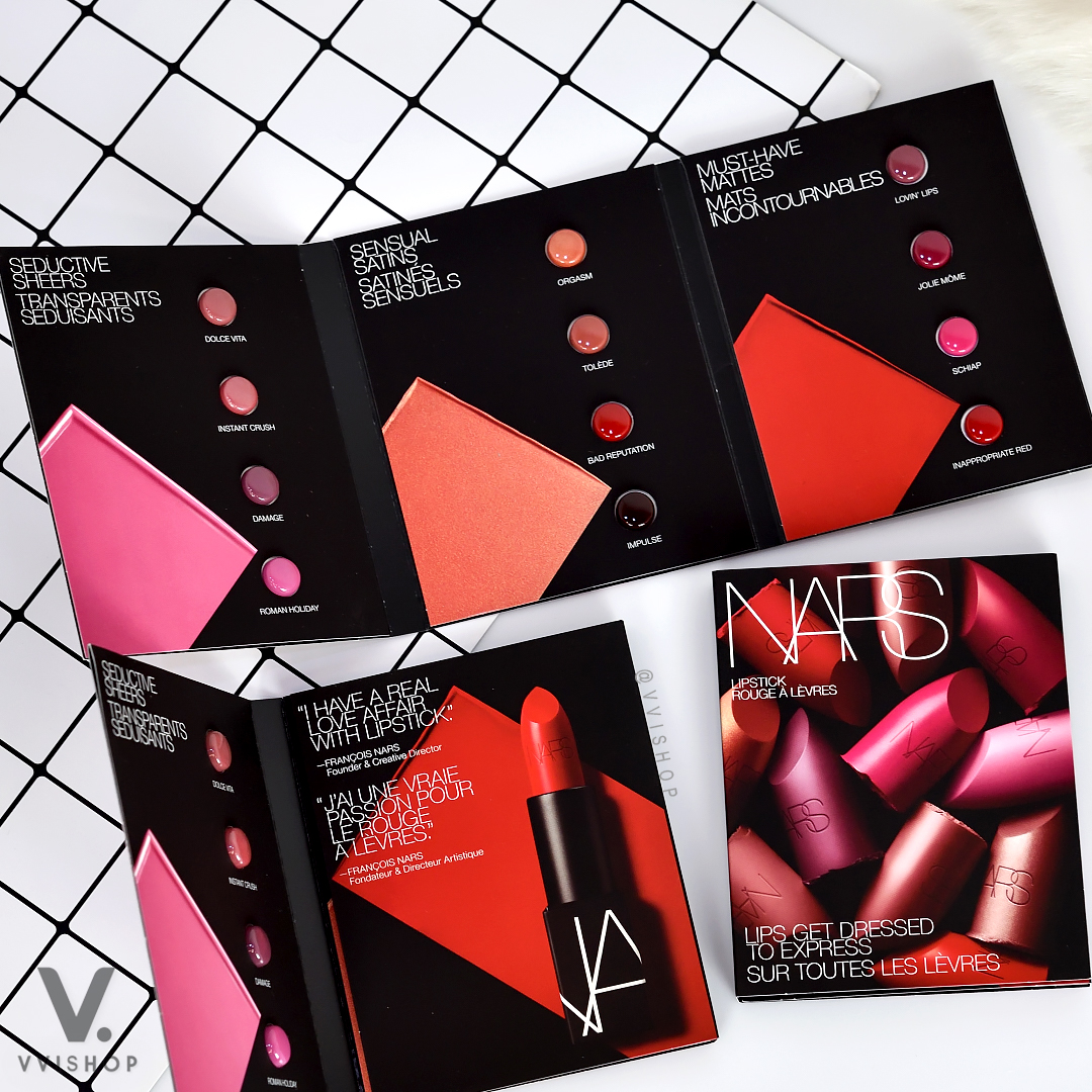 Nars Lips Get Dressed to Express 12 Iconic Shades