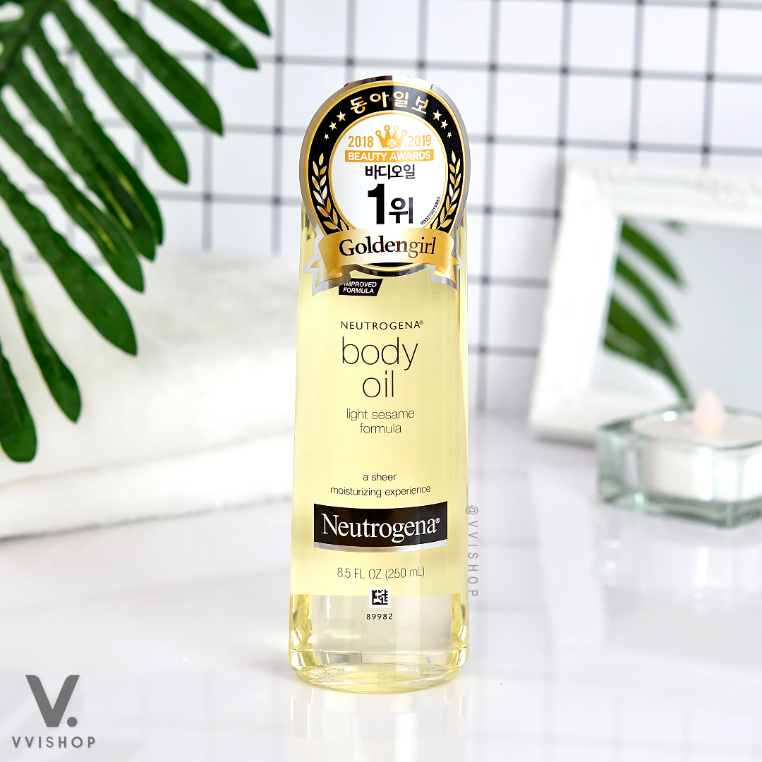 Neutrogena Body Oil Light Sesame Formula 250 ml.