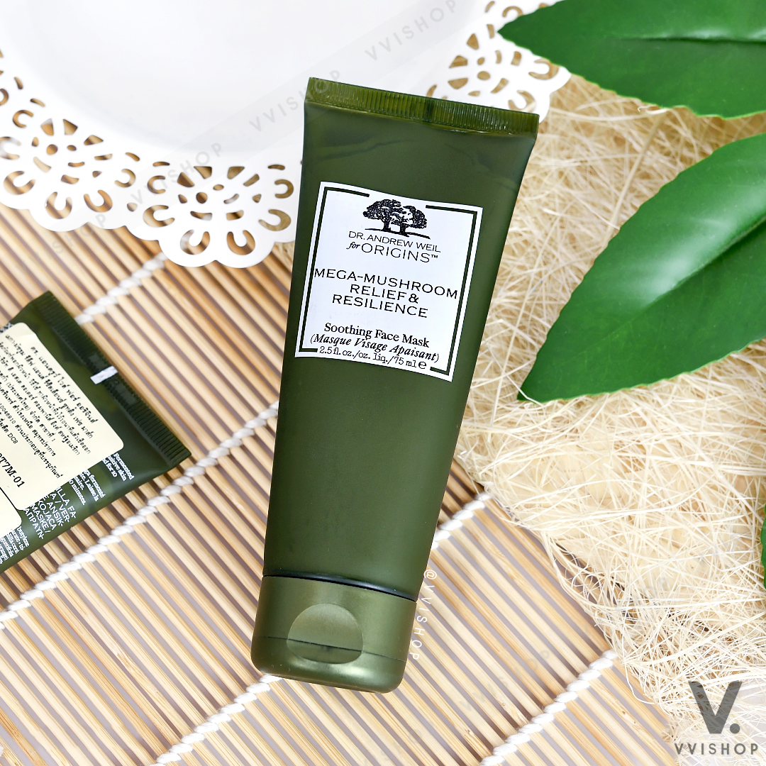 Origins Mega-Mushroom Relief & Resilience Soothing Face Mask 75 ml.