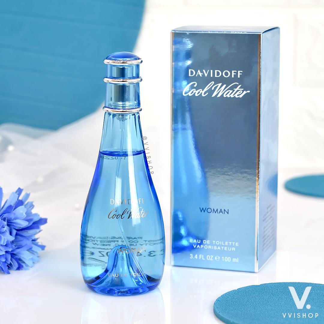 Davidoff Cool Water Women Eau De Toilette 100 ml.