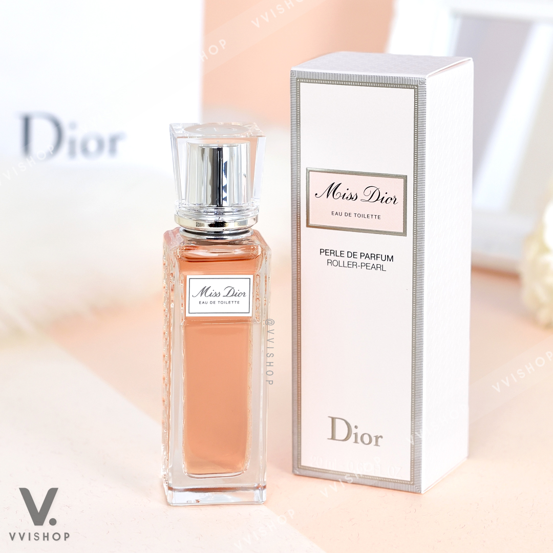 New! Dior Miss Dior Eau De Toilette Roller Pearl 20 ml.