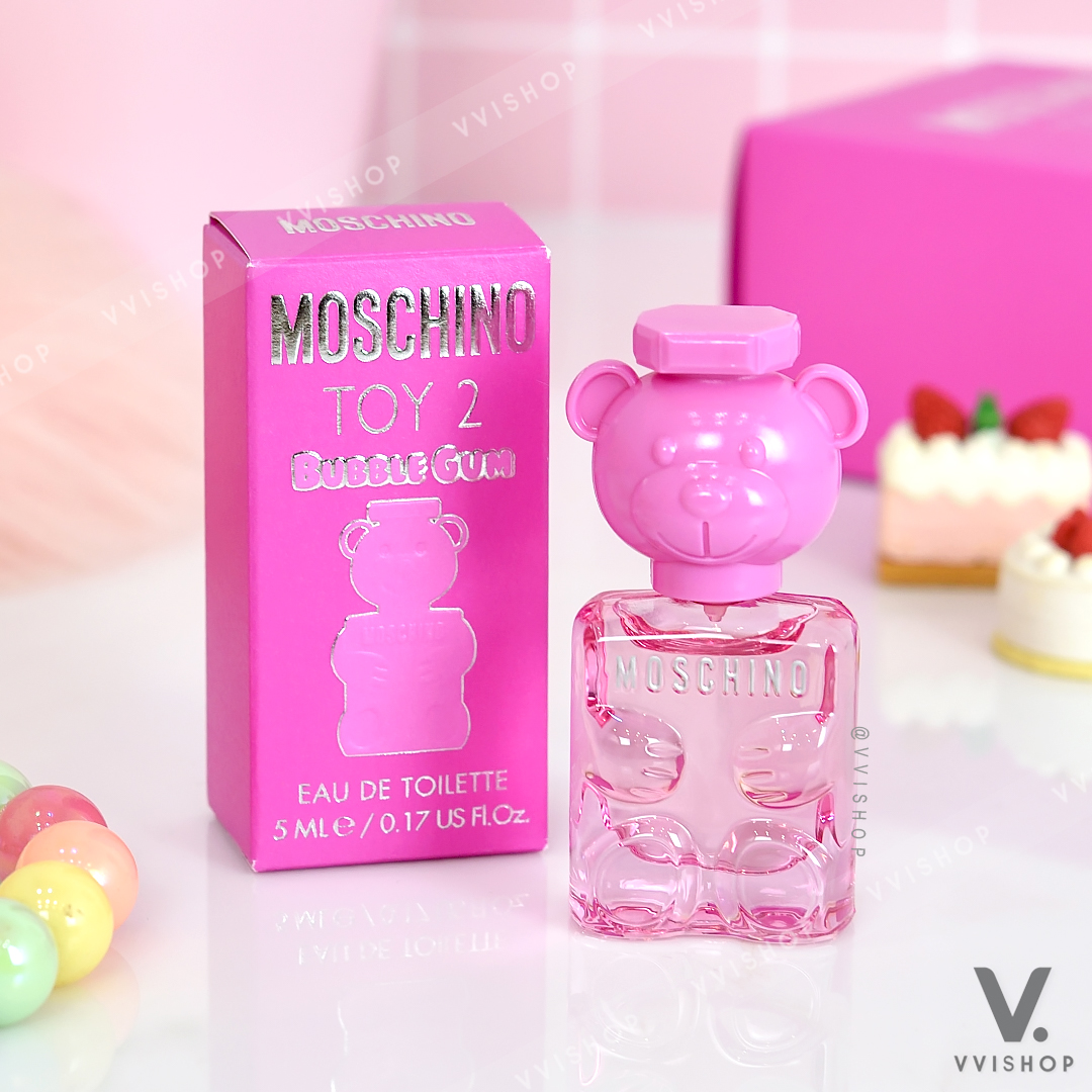 New! Moschino TOY 2 Bubble Gum 5 ml.