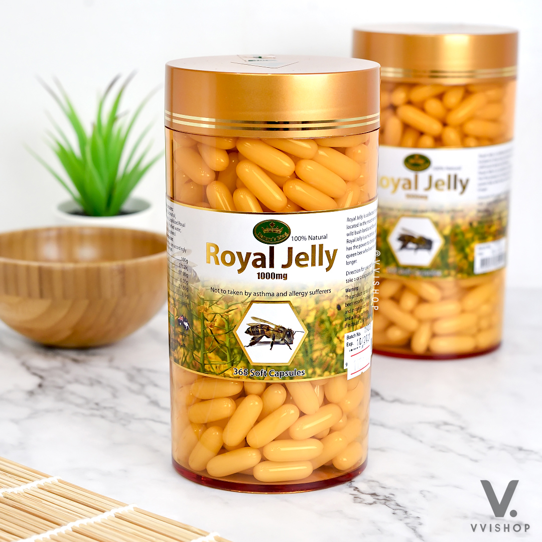 Nature King Royal Jelly 365 Capsules