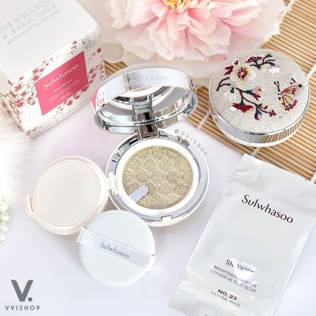 Sulwhasoo Snowise Brightening Cushion EX SPF50+/PA+++ (Spring Limited Collection)