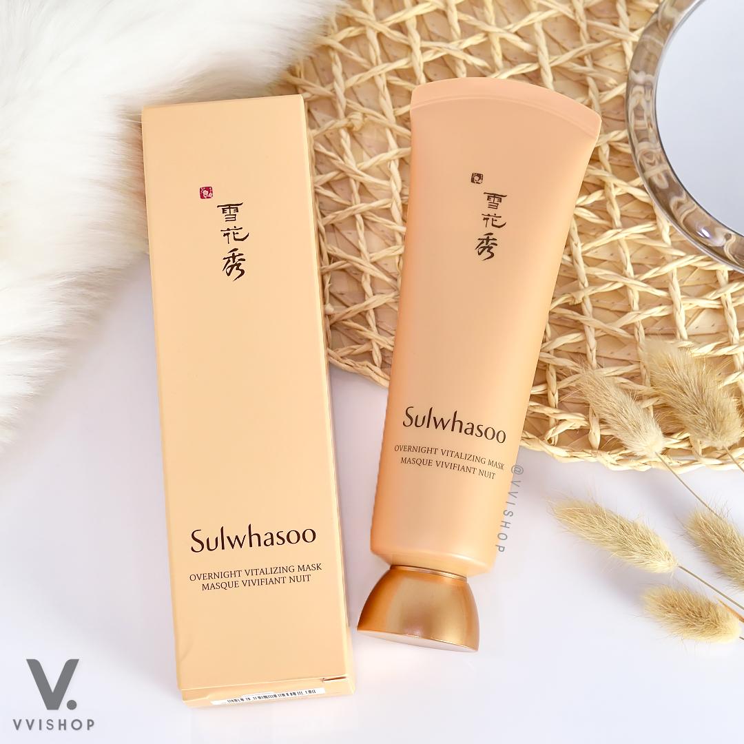 New! Sulwhasoo Overnight Vitalizing Mask Masque Vivifiant Nuit 120 ml.