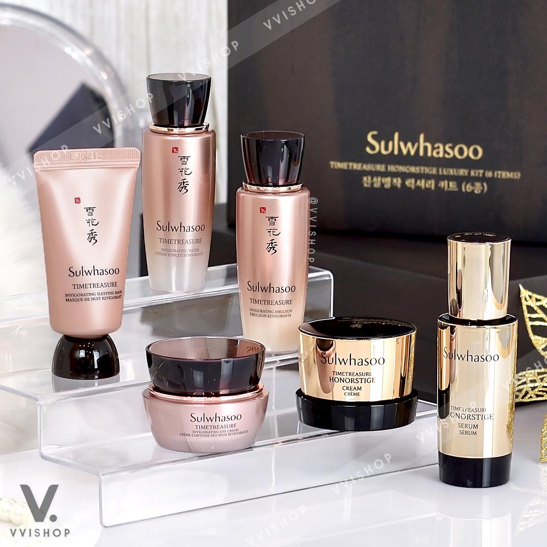 Sulwhasoo Timetreasure Honorstige Luxury Kit 6 Items