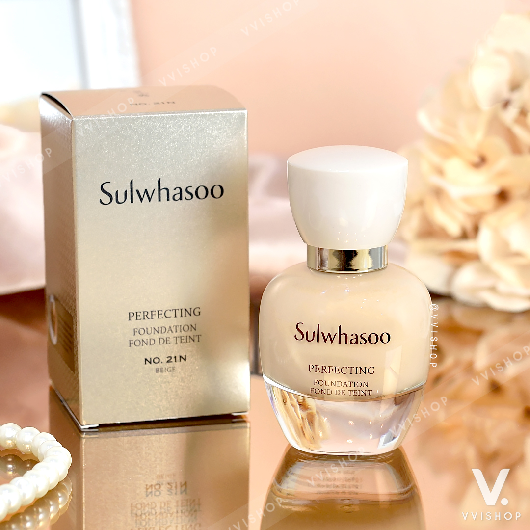New! Sulwhasoo Perfect Foundation SPF17 PA+ 35 ml.