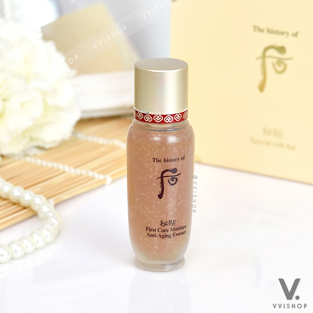 The History of Whoo First Care Moisture Anti Aging Essence 15 ml.
