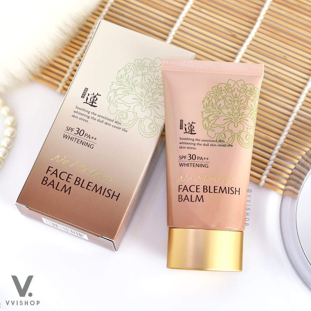 Welcos No Makeup Face BB Whitening SPF30 PA++ 50 ml.