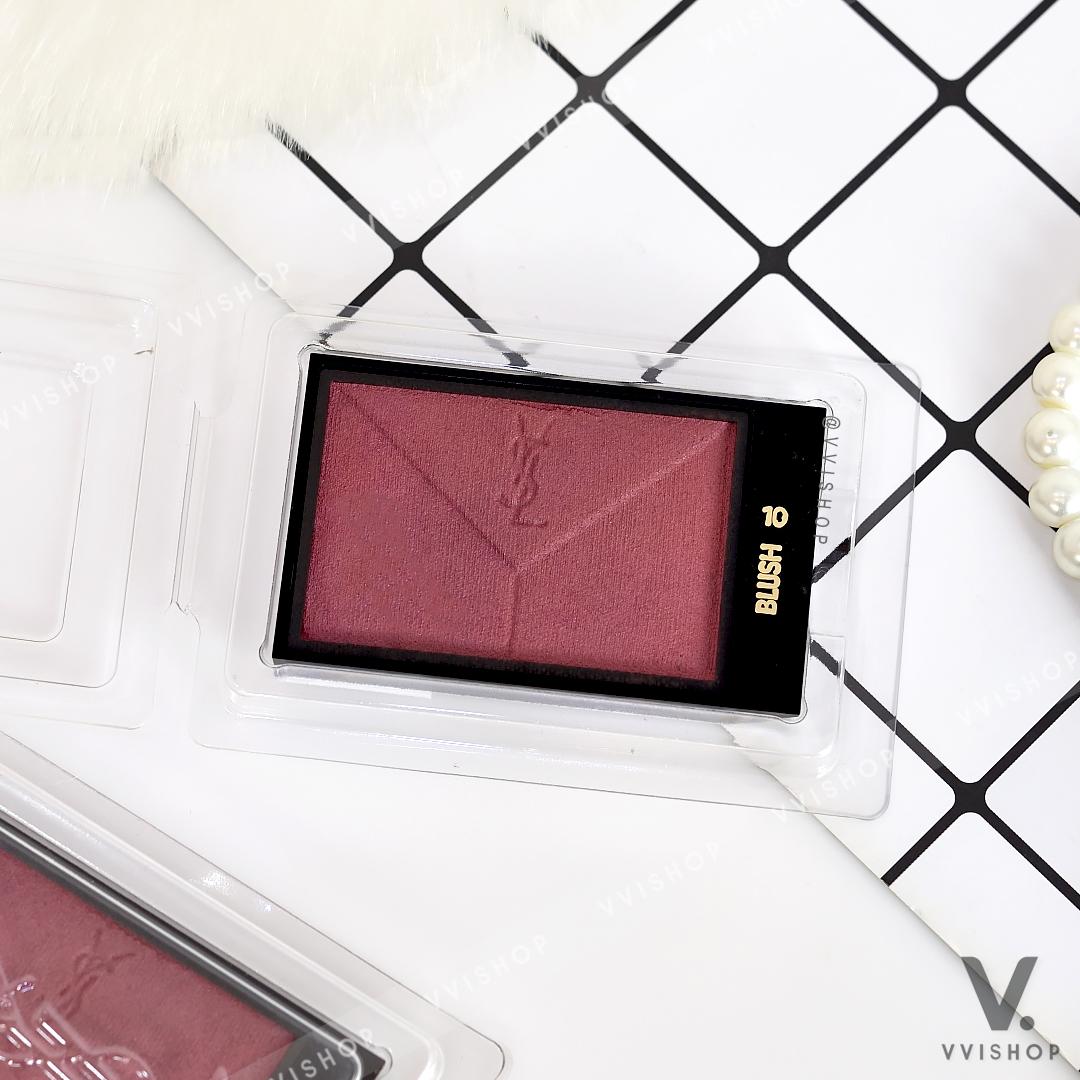 YSL Yves Saint Laurent Couture Blush 3g (Demo) : No.10 Plum Smoking