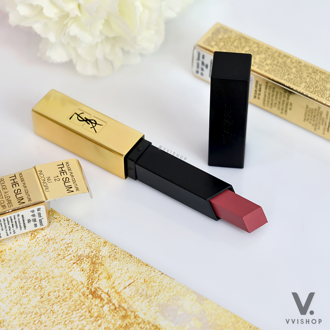 YSL Rouge Pur Couture The Slim Matte Lipstick 2.2g : Nu Incongru