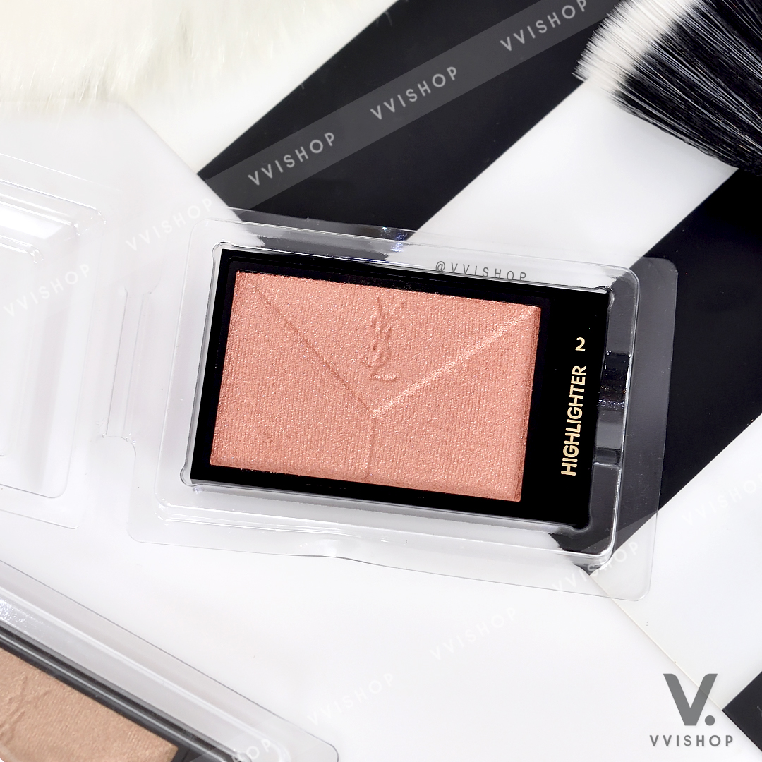 YSL Yves Saint Laurent Couture Highlighter 3g (Demo) : 2 Or Rose